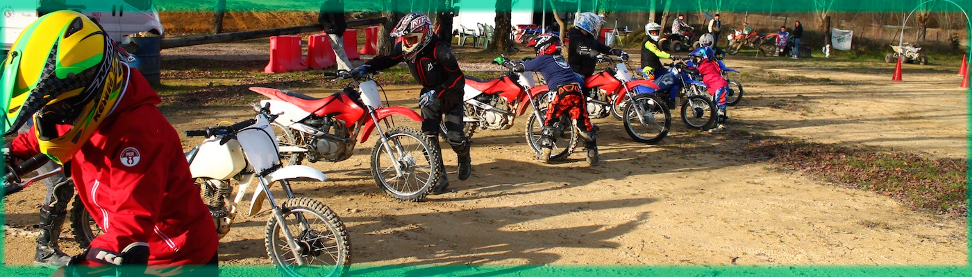 Groupe de motos